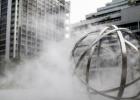 深圳街头现巨型降温神器会吞云吐雾 入夏降温道具有哪些