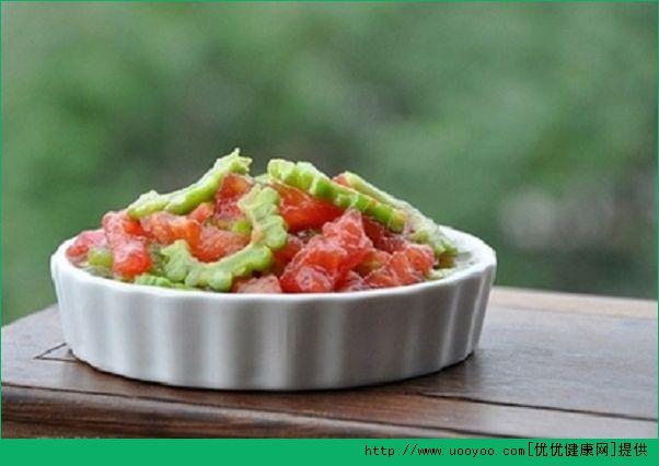 苦瓜和西红柿能一起吃吗?苦瓜和西红柿一起吃会破坏金沙国际娱乐网址吗?(1)