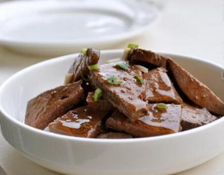 猪肝营养 麻油猪肝的家常做法